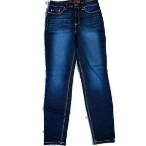 No Boundaries Dark Wash Skinny Jeans
